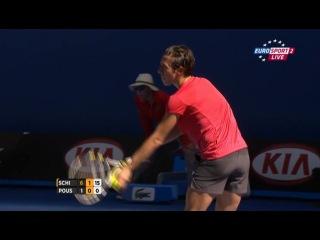 Australian Open 2012 / 1-й раунд / Франческа Скьявоне (Италия, 10) - Лаура Поус-Тио (Испания)